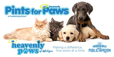 Pints for Heavenly Paws - A Fundraiser for Heavenly Paws of Michigan tickets