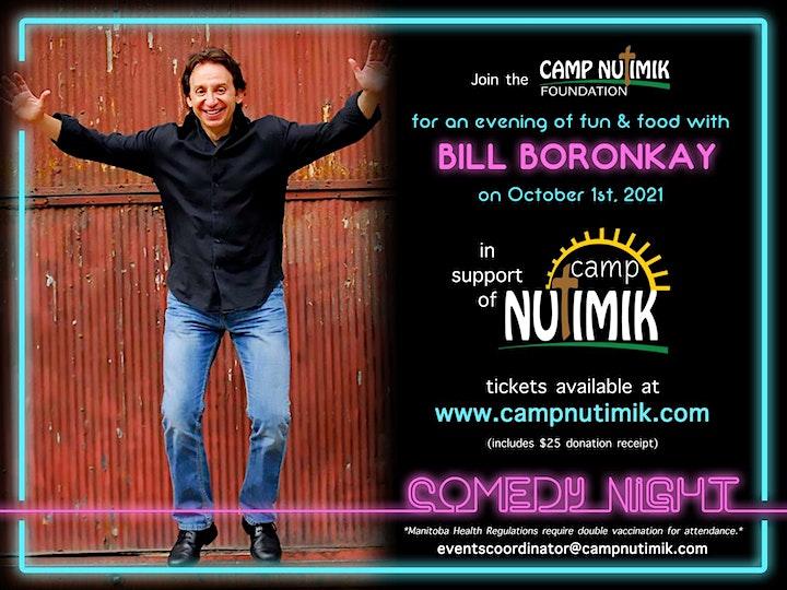 Comedy Night with Bill Boronkay image
