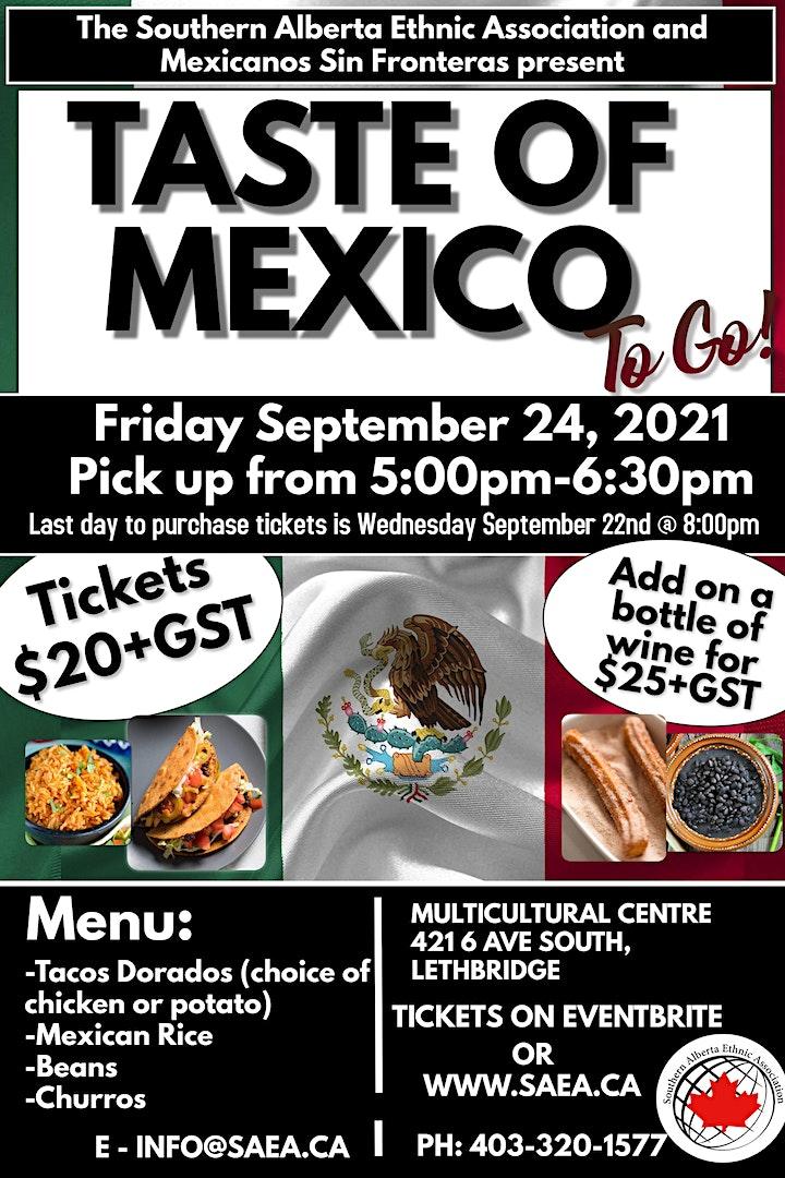 Taste of Mexico To Go image