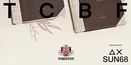 Komeroshi - Realizzazione di 1 Sketchbook con materiali di scarto/ecologici biglietti