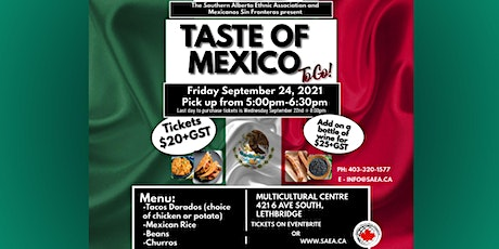 Taste of Mexico To Go tickets