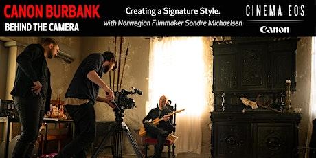 Creating a Signature Style with Norwegian Filmmaker Sondre Michaelsen tickets