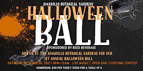Amarillo Botanical Gardens Halloween Ball tickets