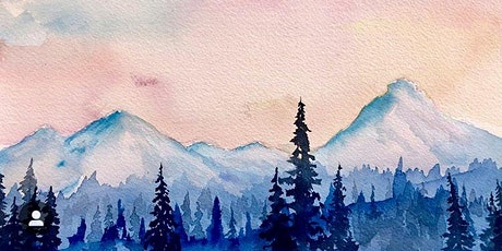 Watercolor Mountains Workshop with Idaho Adventures Art tickets