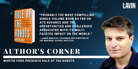 Author's Corner X Martin Ford: Rule of the Robots tickets