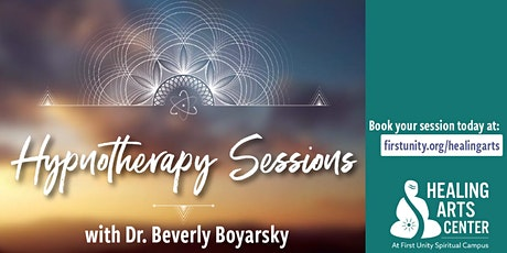 Hypnotherapy with Dr. Beverly Boyarskly at the Healing Arts Center tickets