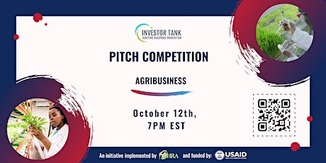 Investor Tank Pitch Event: Agribusiness tickets