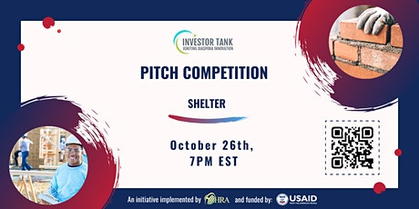 Investor Tank Pitch Event: Shelter tickets