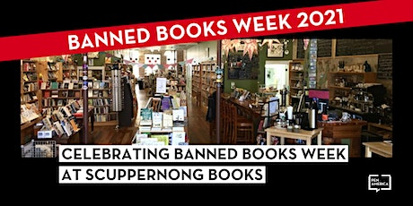 Celebrating Banned Books Week at Scuppernong Books tickets