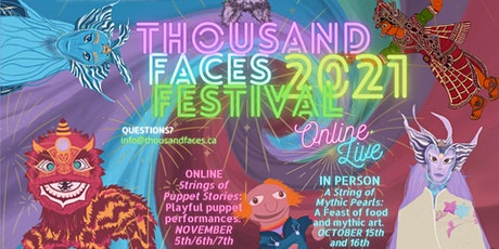 Thousand Faces Festival: String of Mythic Pearls Feast 2021 tickets