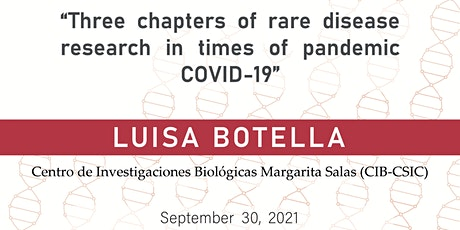 Three chapters of rare disease research in times of pandemic COVID-19 entradas
