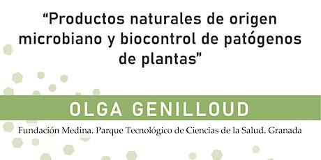 Productos naturales de origen microbiano y control de patógenos de plantas entradas