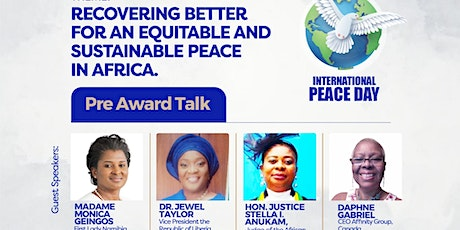 AFRICAN PEACE MAGAZINE WEBINAR TO MARK THE INTERNATIONAL DAY OF PEACE tickets