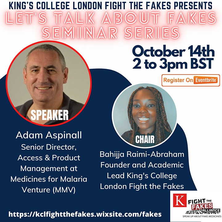 Let's Talk About Fakes Seminar Series image