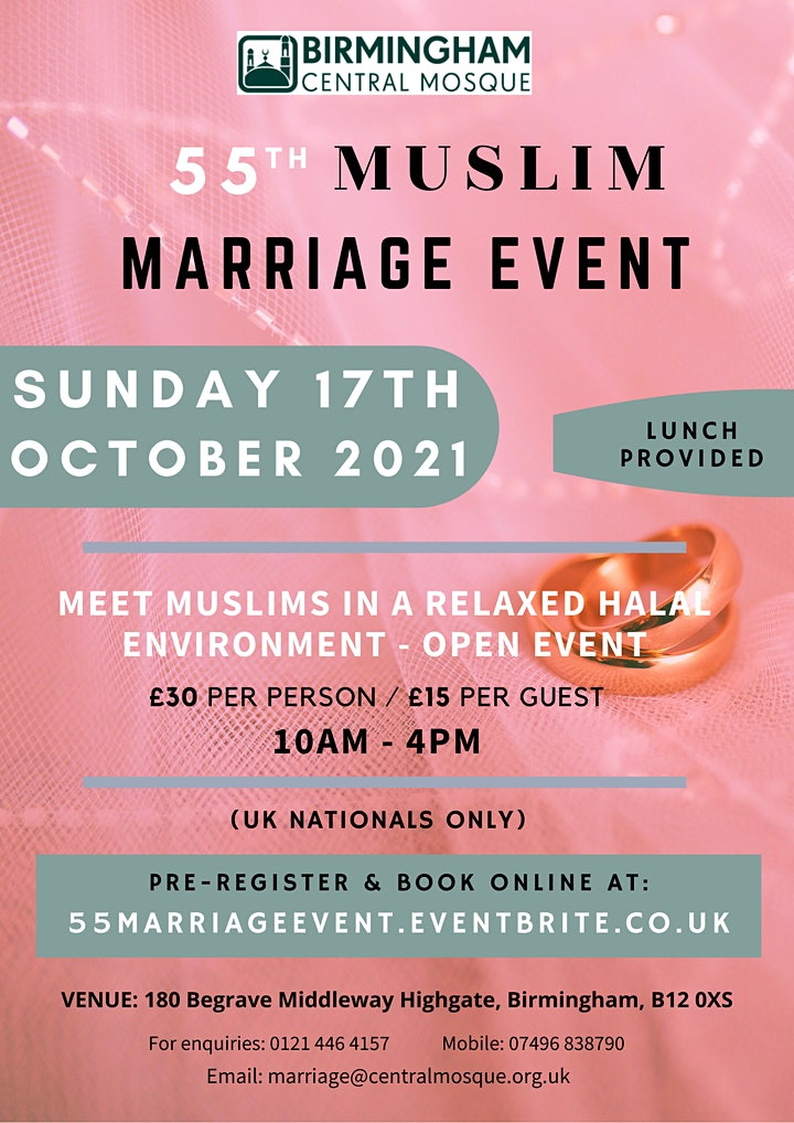 55th Muslim Marriage Event image