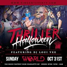 Thriller Halloween tickets