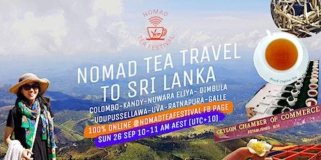 Nomad Tea Travel to Sri Lanka tickets