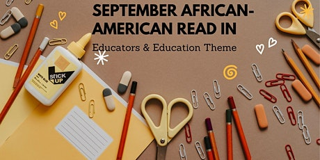 September  African American Read-In tickets