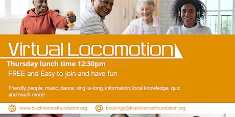 Virtual Locomotion in your Living Room! Lunchtime Start 12:30pm tickets