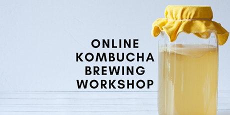 Online Learn to Brew Kombucha Workshop tickets