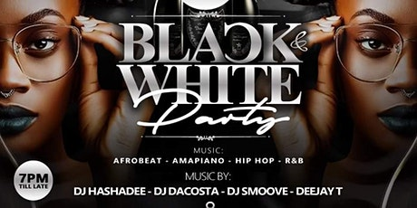 Exclusive black&white party tickets