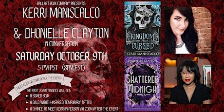 Kerri Maniscalco & Dhonielle Clayton in conversation. Meet & Greet Kerri! tickets