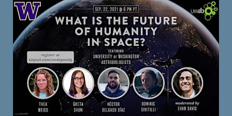 UW Astrobiology Presents: What Is the Future of Humanity in Space? tickets