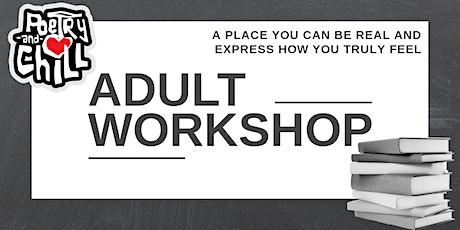 PoetryAndChill Adult Workshop tickets