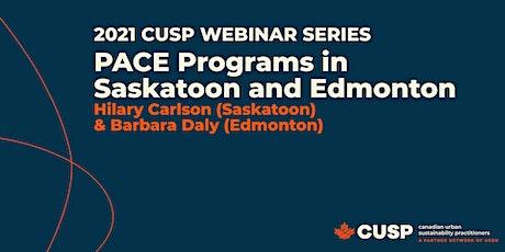 CUSP Webinar: PACE Programs in Saskatoon and Edmonton tickets