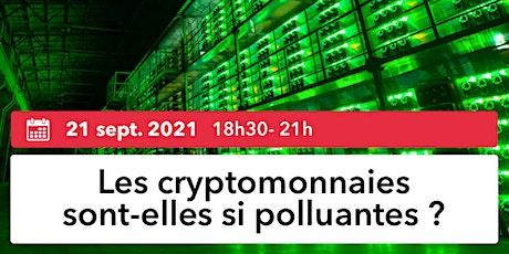 Nantes Digital Week | Les cryptomonnaies sont-elles si polluantes ? billets