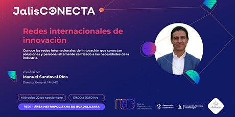 Redes internacionales de innovación tickets