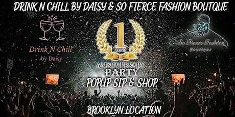 1 Year Anniversary Pop Up Sip & Shop tickets