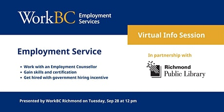 Employment Service Info Session tickets
