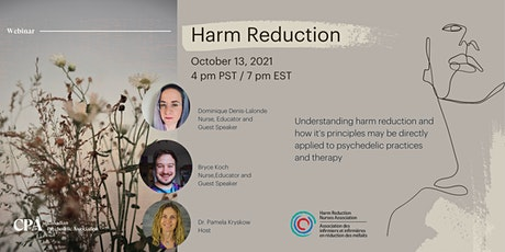 Harm Reduction Webinar - Canadian Psychedelic Association tickets