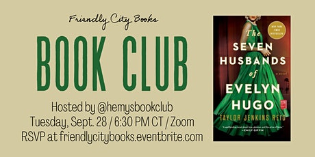 Zoom Book Club: The Seven Husbands of Evelyn Hugo tickets