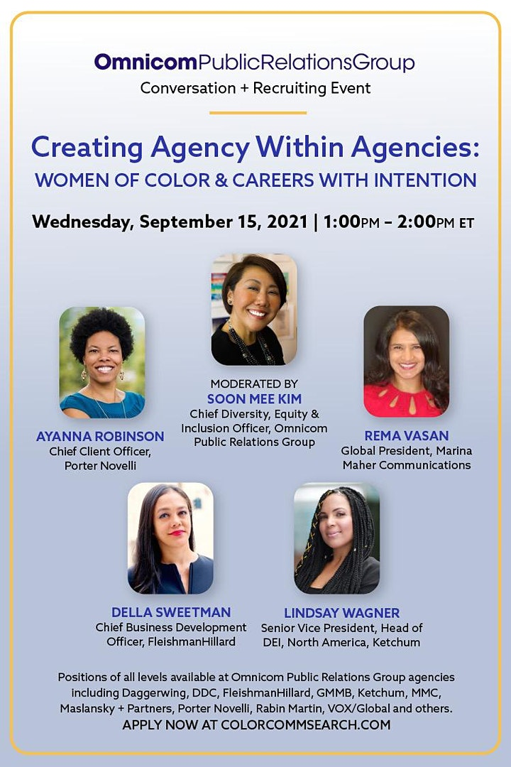 Omnicom Presents: Creating Agency within Agencies: Women of Color... image