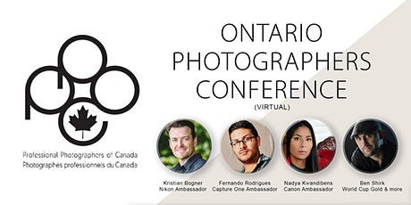 Ontario Photographers Conference tickets