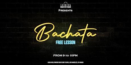 Free Bachata Lessons at La Cueva tickets