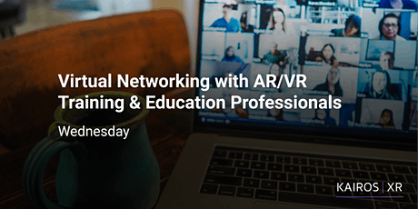 Virtual Networking with AR/VR Training & Education Professionals tickets