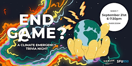 End Game? A Climate Emergency Trivia Night tickets