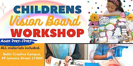 Children's Vision Board Workshop tickets