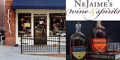 Lucia and Nejaime's Wine & Spirits Present a Barrell Bourbon Dinner tickets
