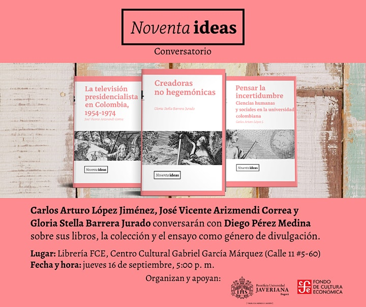 Imagen de Conversatorio   Colección Noventa Ideas