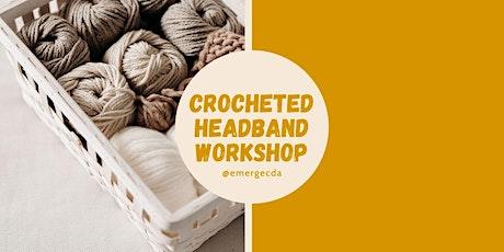 WORKSHOP: Crocheted Headbands with Jessica Gehl tickets