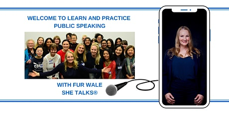 Learn and Practice Public Speaking tickets