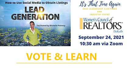 2022 Women's Council -Dekalb Leadership Elections and Industry Event tickets