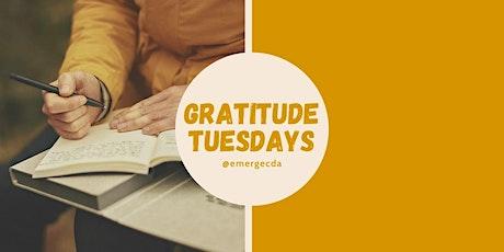 WORKSHOP: Gratutide Tuesdays with Jessica Gehl tickets