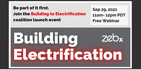 Building to Electrification (B2E) Launch tickets