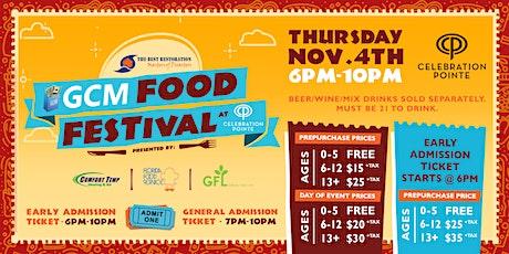 GCM Food Fest Presented by  Comfort Temp,  Florida Food Service & GFL tickets