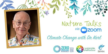 Nature Talks in the library: Climate Change with Dr Karl tickets
